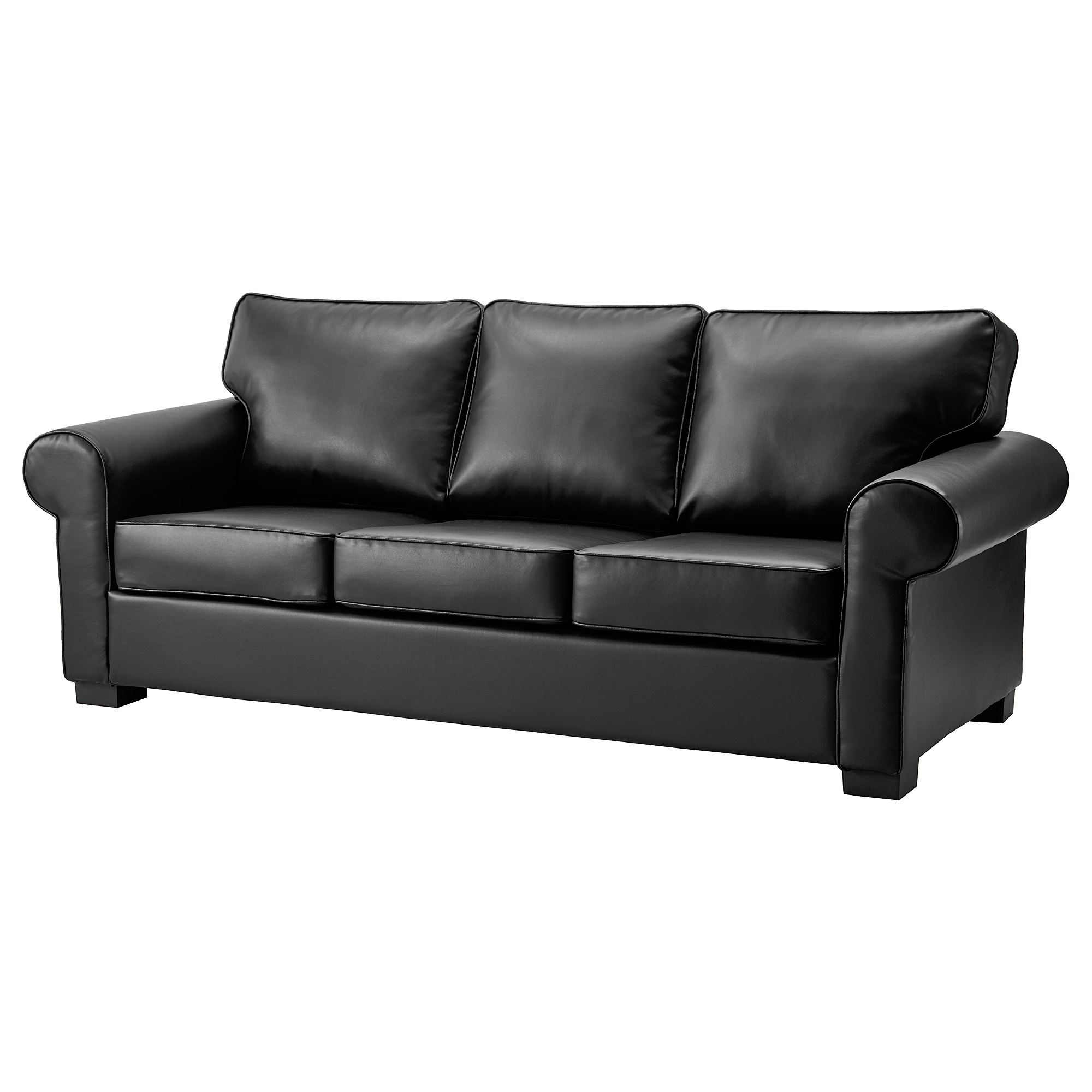 buy leather sofa leather couch leather armchairs online ikea rh ikea com  ikea red leather sofa bed