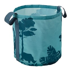 URSKOG, Storage bag, trees, turquoise