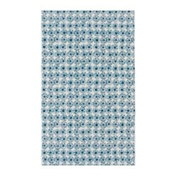INGELILL fabric, blue flower