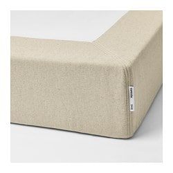 ESPEVÄR, Spring mattress base for bed frame, natural