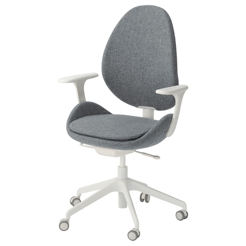 IKEA HATTEFJÄLL Office chair with armrests