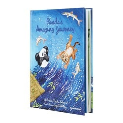 DJUNGELSKOG book, Panda's amazing journey