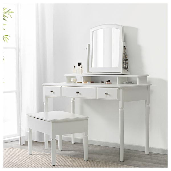 IKEA TYSSEDAL Dressing table with mirror