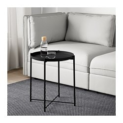 GLADOM tray table, black