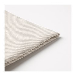 FRÖSÖN cover for chair pad, outdoor beige