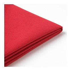 FRÖSÖN cover for chair pad, outdoor red