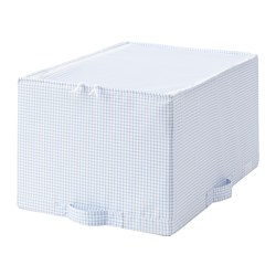 STUK storage case, white/blue