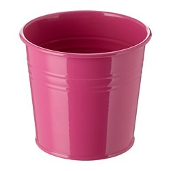 SOCKER plant pot, in/outdoor, pink