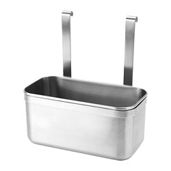 KUNGSFORS container, stainless steel