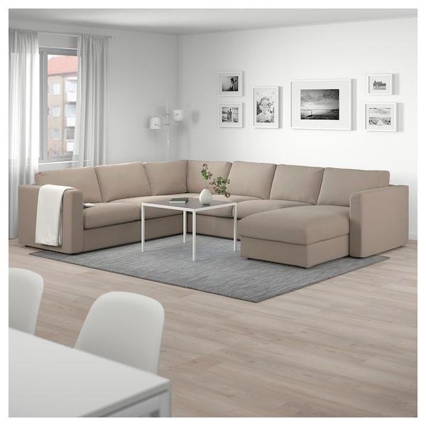 Vimle Sectional 5 Seat Corner With Chaise Tallmyra