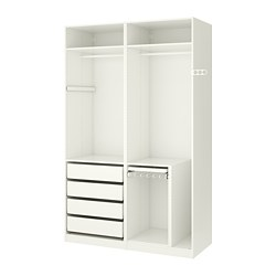 pax kleiderschranksystem kombination ohne t ren ikea. Black Bedroom Furniture Sets. Home Design Ideas