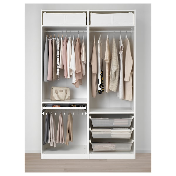 pax kleiderschrank wei svorkmo w bei gest ikea. Black Bedroom Furniture Sets. Home Design Ideas