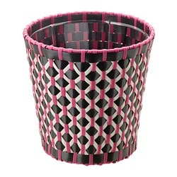 SOMMAR 2018 plant pot, in/outdoor black