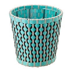 SOMMAR 2018 plant pot, in/outdoor, turquoise