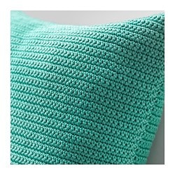 SÖtholmen Cushion Cover Indoor Outdoor Turquoise
