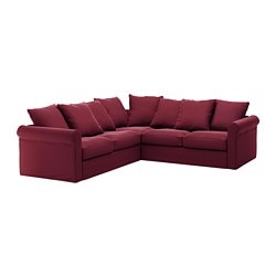 GrÖnlid Cover For Sectional 4 Seat Ljungen Dark Red