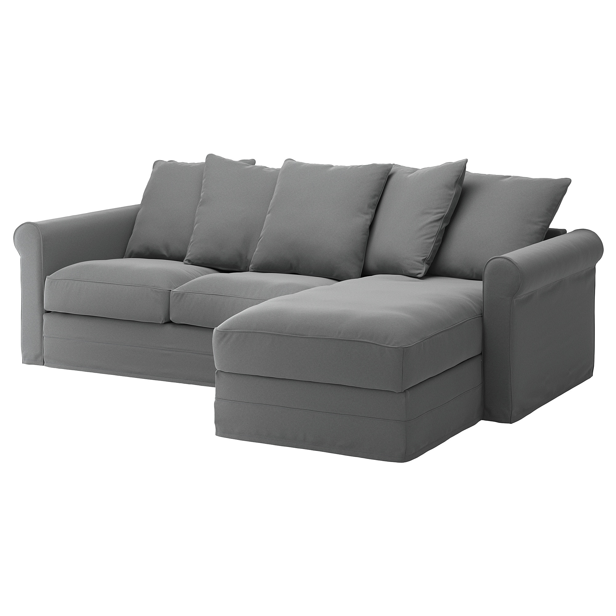 Sofa GrÖnlid With Chaise Ljungen Medium Gray