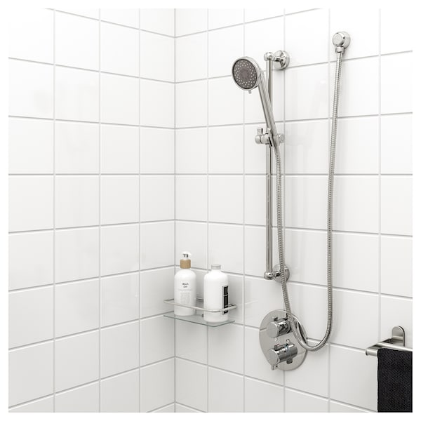 IKEA VOXNAN Riser rail with hand shower/outlet