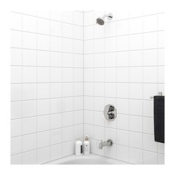 brogrund bathshower set thermostatic faucet chrome plated - Bathroom Shower Faucets