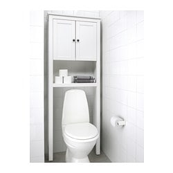 Hemnes Bathroom Shelf Unit White