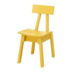 INDUSTRIELL chair, yellow