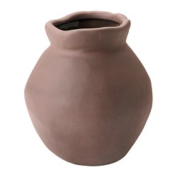 INDUSTRIELL vase, terracotta
