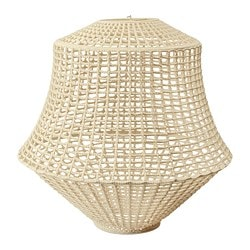 INDUSTRIELL pendant lamp shade, natural colour/beige