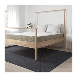 Mausund Natural Latex Mattress Queen Ikea