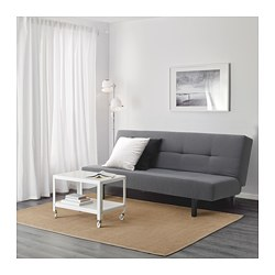 Balkarp Sleeper Sofa Vissle Gray