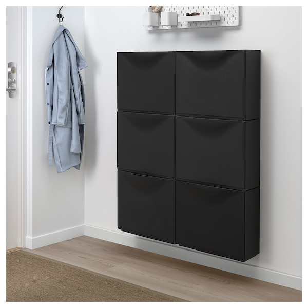 trones skap svart ikea. Black Bedroom Furniture Sets. Home Design Ideas