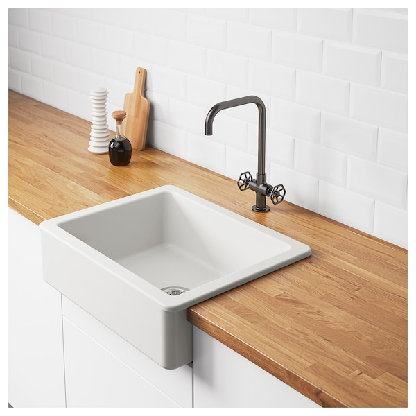 Does Ikea Install Kitchen Cabinets: HAVSEN Apron Front Sink