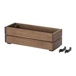 SOMMAR 2018 flower box, outdoor, acacia