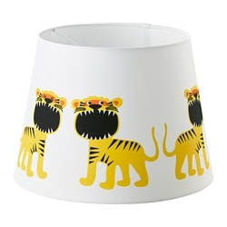 TROLLAKULLA lamp shade, white