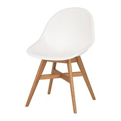 FANBYN chair, white