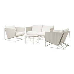 HAVSTEN 4-seat conversation set, in/outdoor