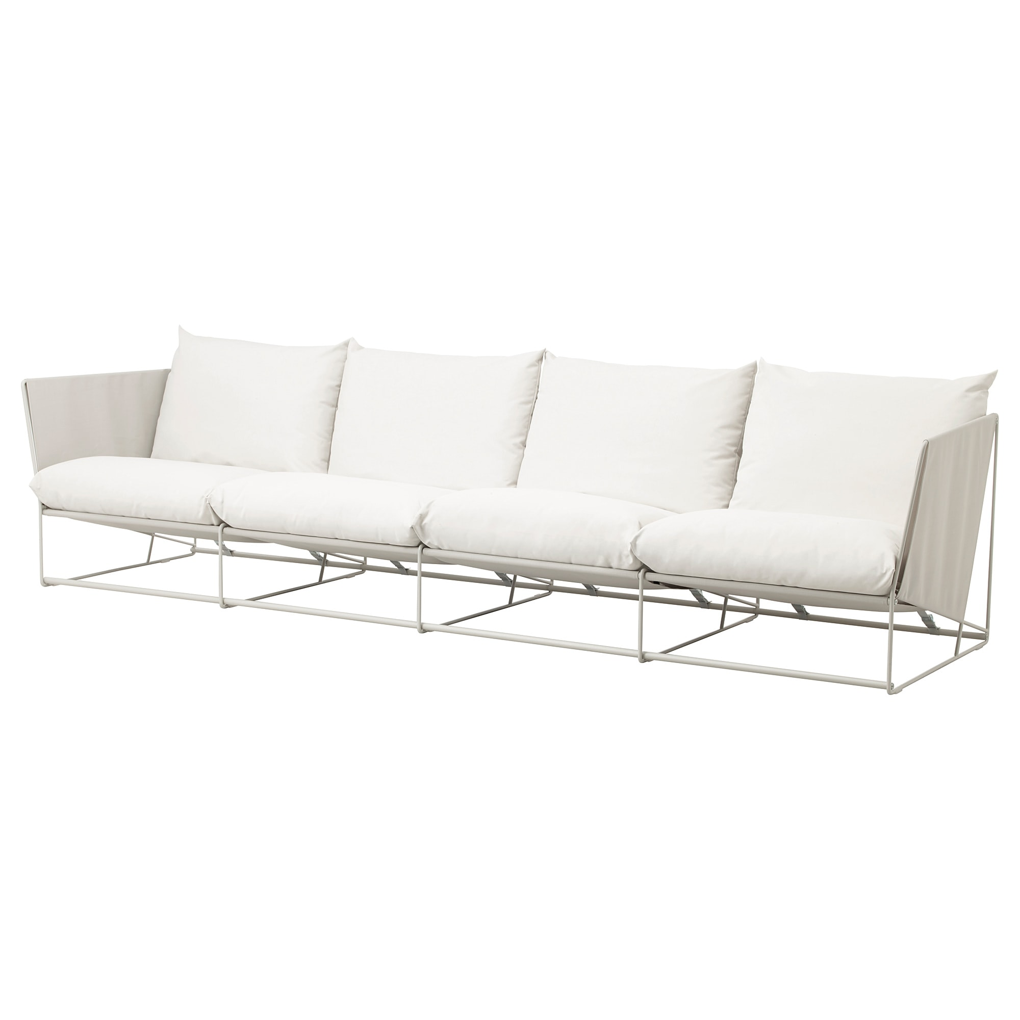 4 Zits Bank Ikea.Havsten 4 Seat Sofa In Outdoor Beige Ikea