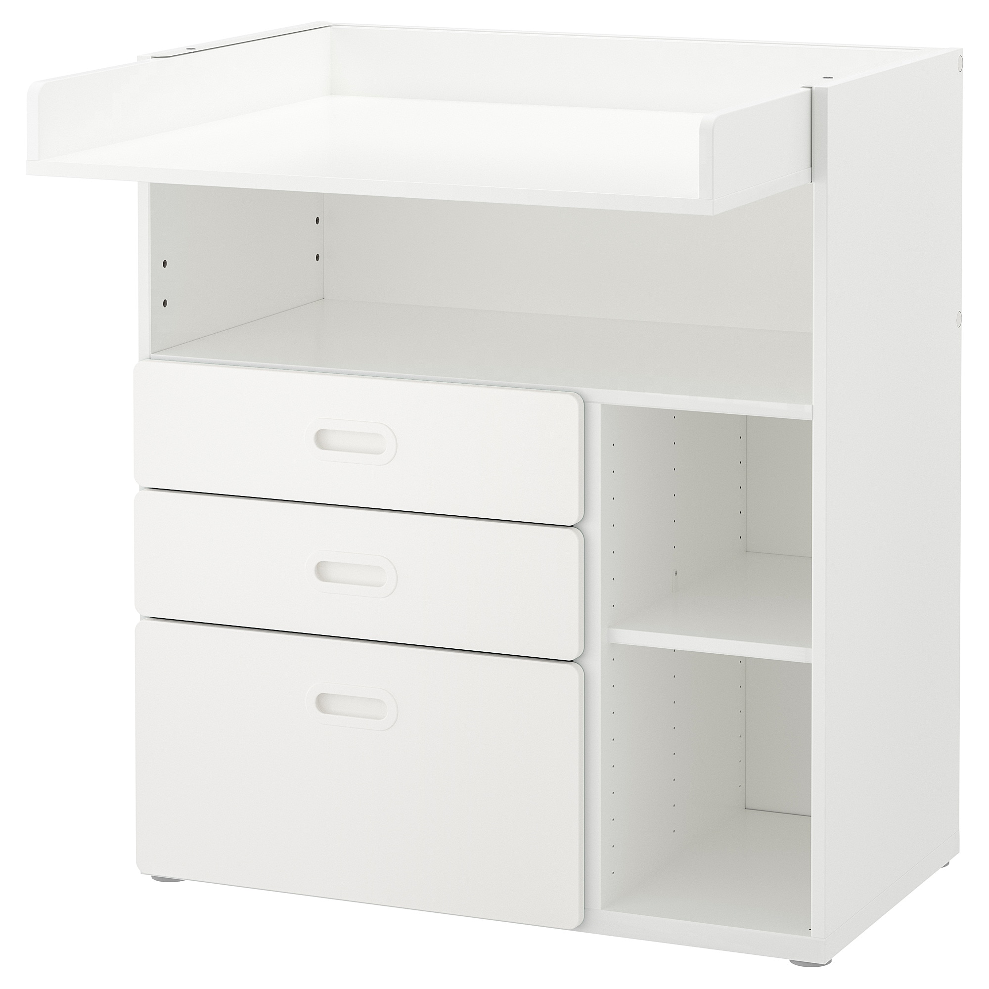 475c991346ad STUVA / FRITIDS Changing table with drawers, white, white, 90x79x102 cm