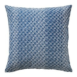 DAGGRUTA cushion cover, blue