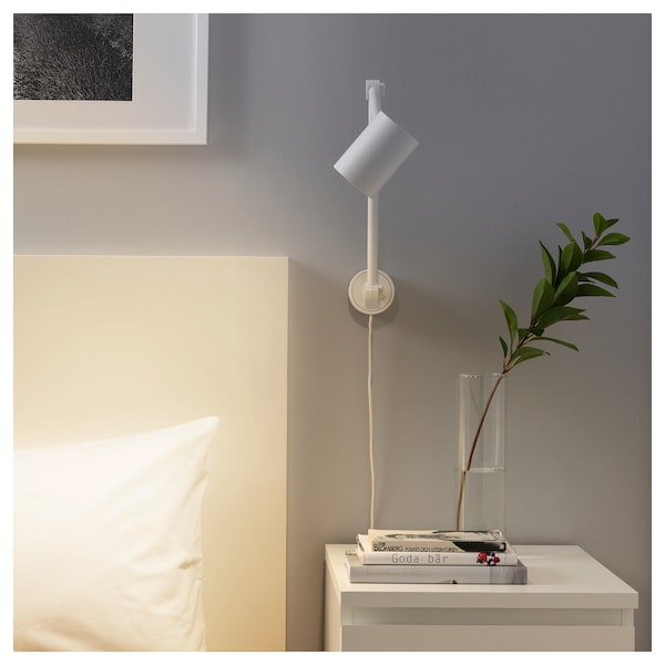 best service e0a13 7e25f Work/wall lamp NYMÅNE white