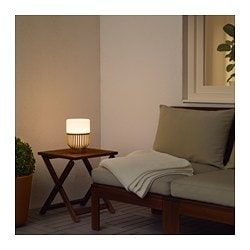 Mullbacka Lampe De Table A Led Ikea