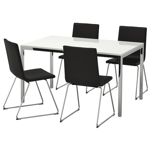 IKEA TORSBY / VOLFGANG Table et 4 chaises