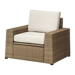 SOLLERÖN Armchair, outdoor