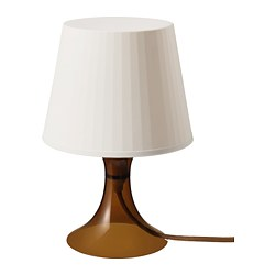 LAMPAN lampe de table, brun