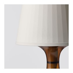 LAMPAN Table Lamp With LED Bulb, Brown