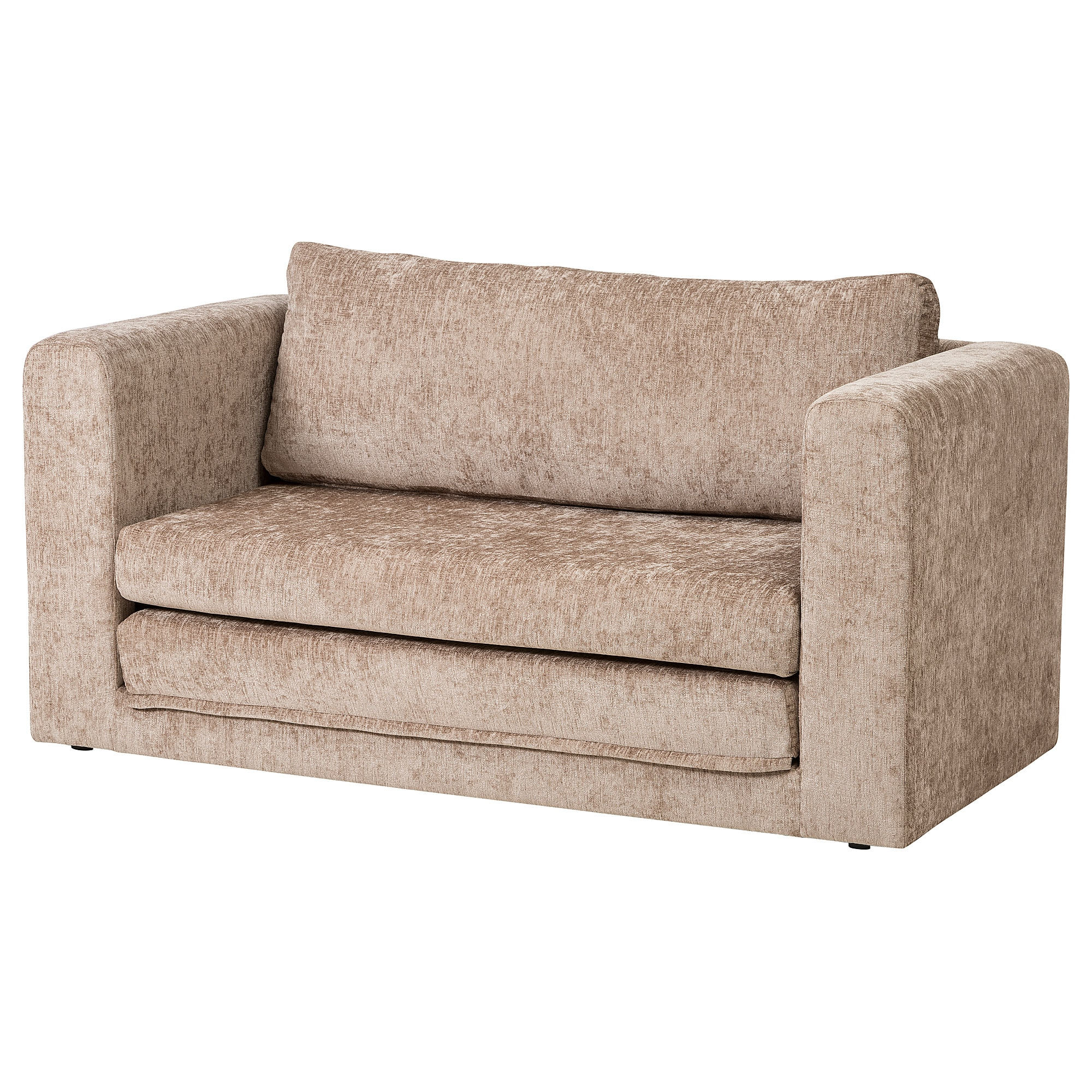 ASKEBY 2-seat sofa-bed - beige - IKEA