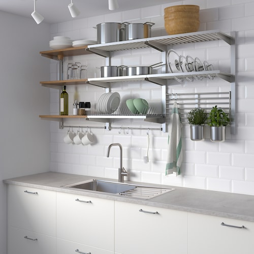 Kitchen Storage Racks Wall Baskets Ikea