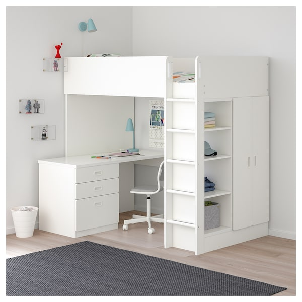 IKEA STUVA / FRITIDS Loft bed with 3 drawers/2 doors