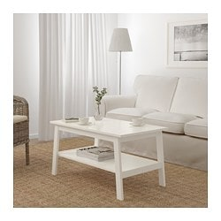 LUNNARP coffee table, white