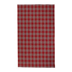 VINTER 2018, Tablecloth, check pattern, red