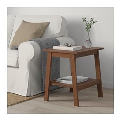 Lunnarp Side Table Brown